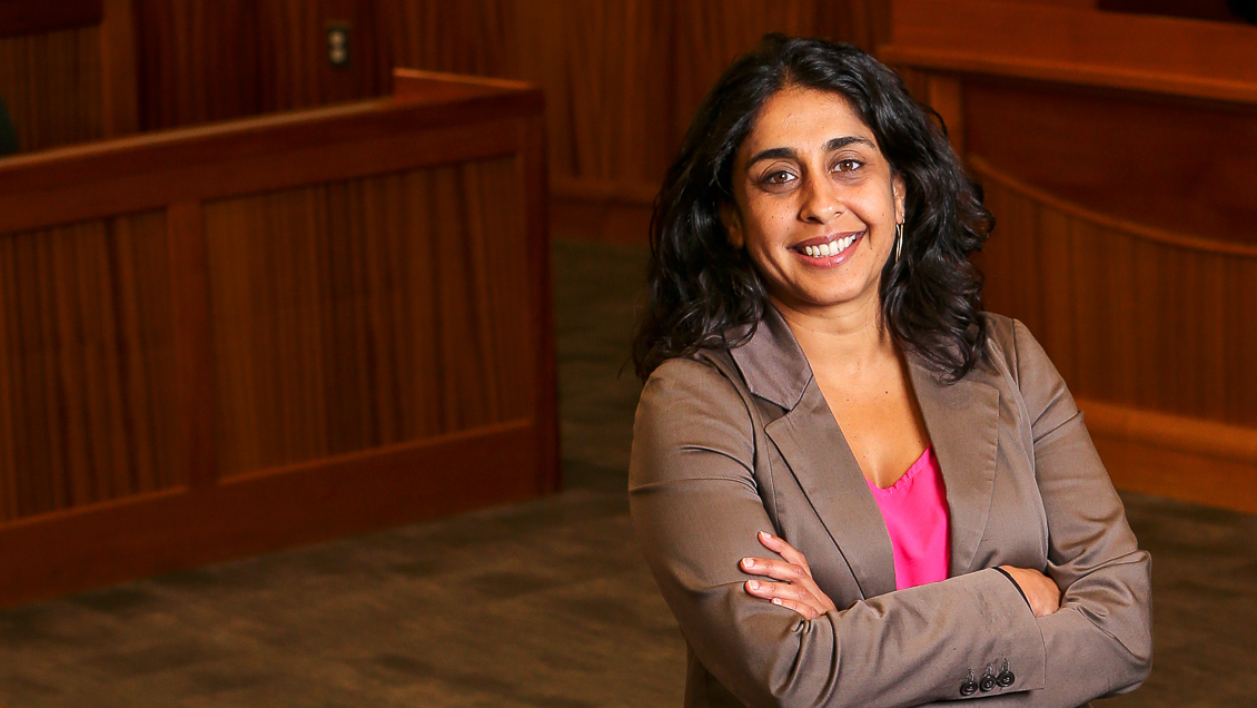 Suffolk University Law School Professor Ragini Shah