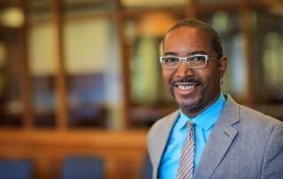 Portrait of Suffolk University Law School Professor Frank Cooper