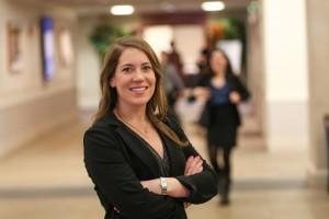 Suffolk Law student Caroline Clair