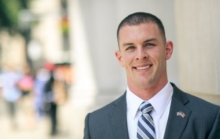 Suffolk Law student Nicholas Hasenfus