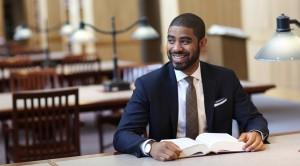 Suffolk University Law School student Gerald Glover