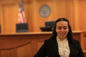 Suffolk University Law School graduate Tiffany Andrade JD'15