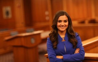 Suffolk University Law Student Marissa Louro