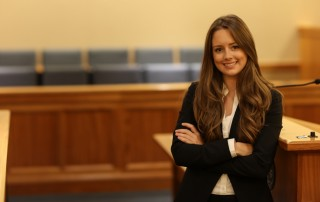 Suffolk University Law School student Merry Sheehan JD'17