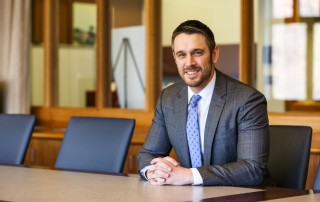 Suffolk Law alumnus David Bastian