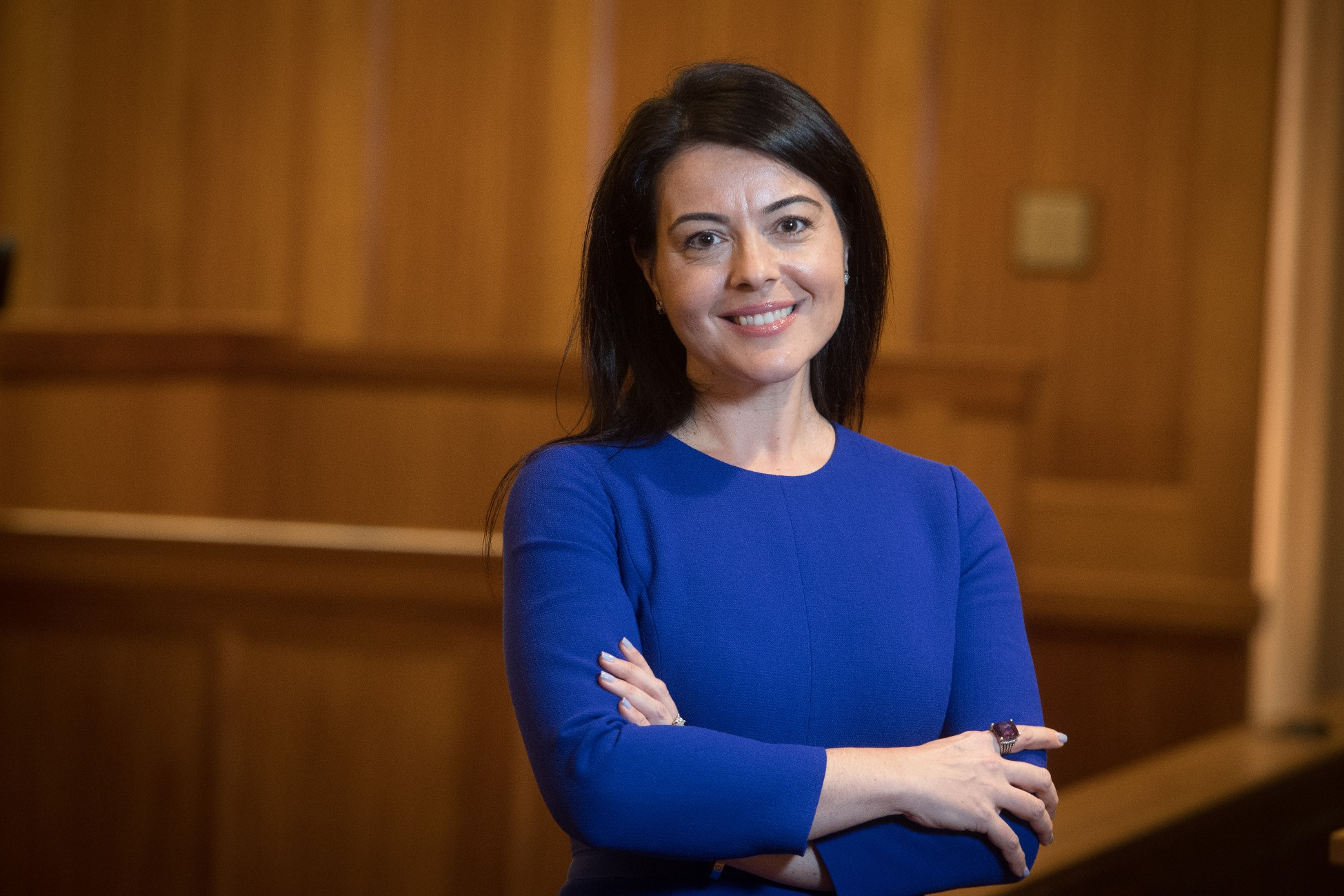 Suffolk Law Professor Sabrina DeFabritiis
