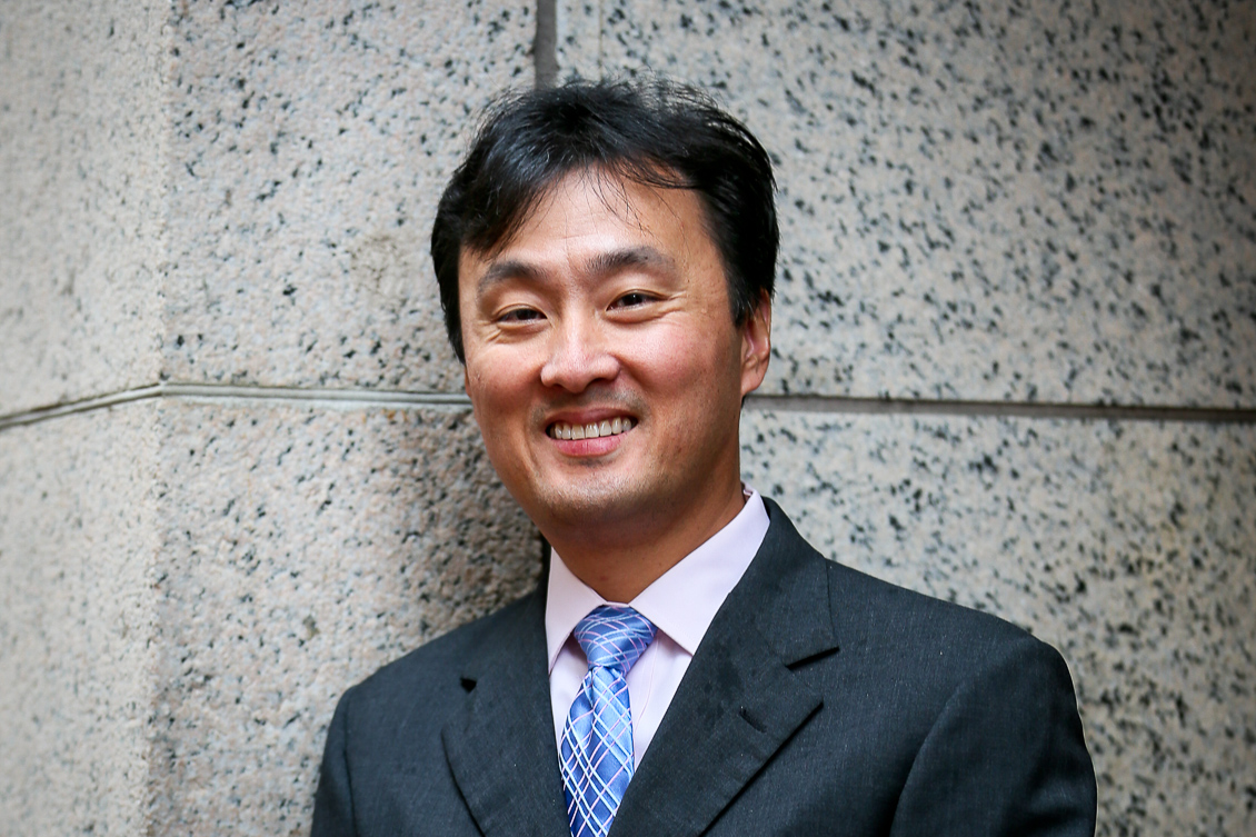 Suffolk Law Professor Patrick Shin