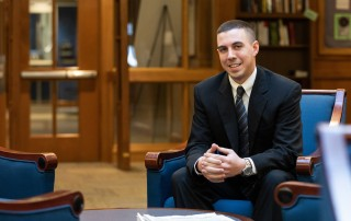 Assistant Director of Admission Erik Graham