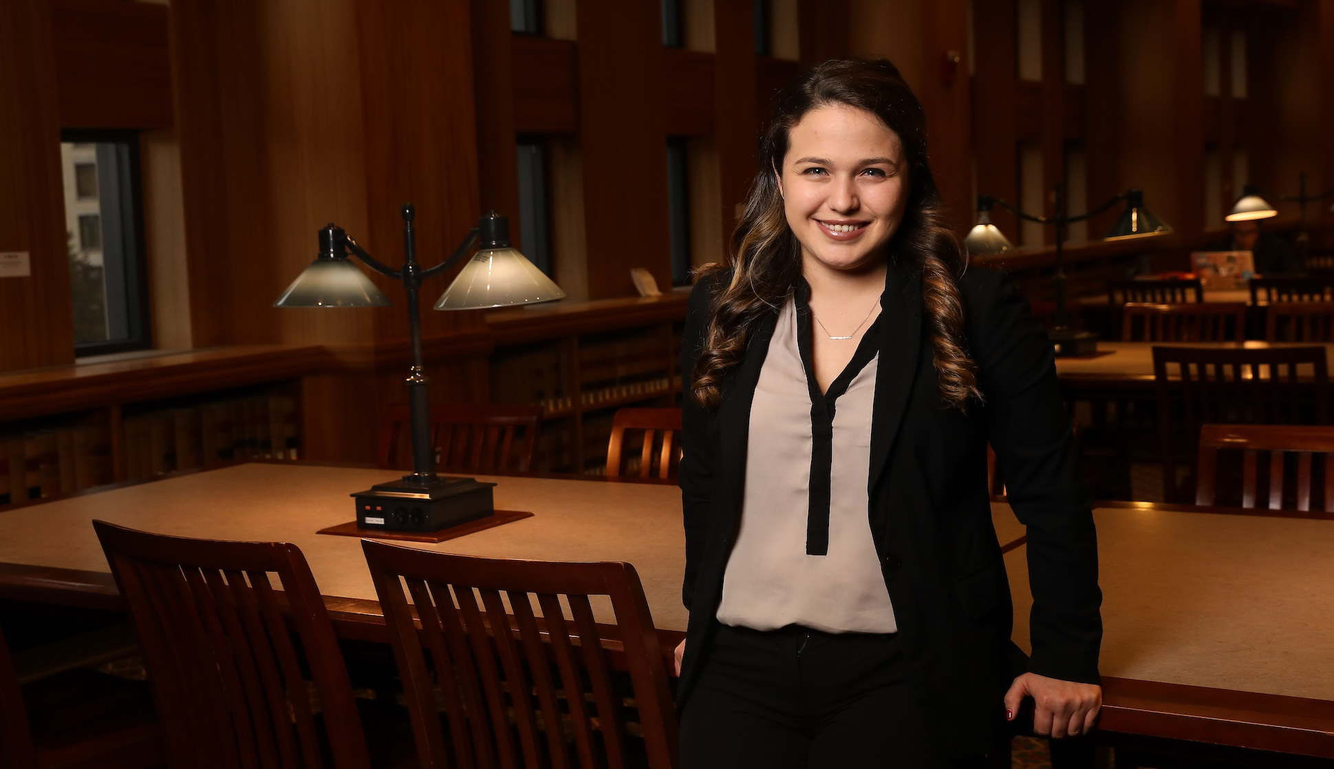 Suffolk Law student Stephanie Herbello JD'18