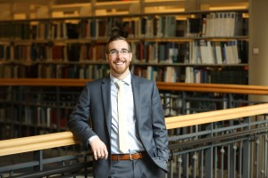 Suffolk Law student Kevin Mosier JD'18