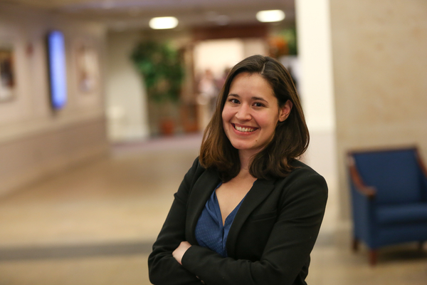Suffolk Law student Christina Rich