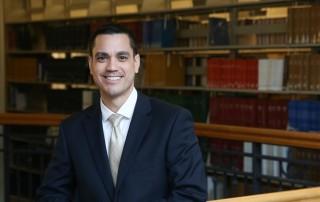 Suffolk University Law Student Sean Camacho