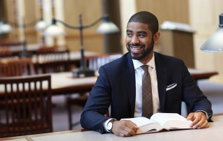 Suffolk University Law School student Gerald Glover