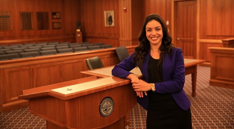 Suffolk Law Student Priscilla Guerrero