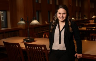 Suffolk Law student Stephanie Herbello JD'18