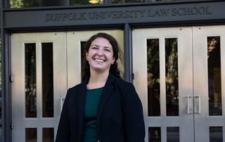Suffolk Law student Nicole Siino JD'18